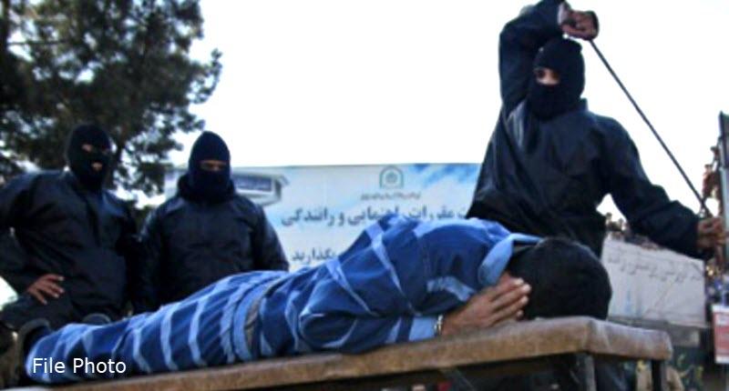 IRAN: Prisoner Flogged in Public in Ahvaz
