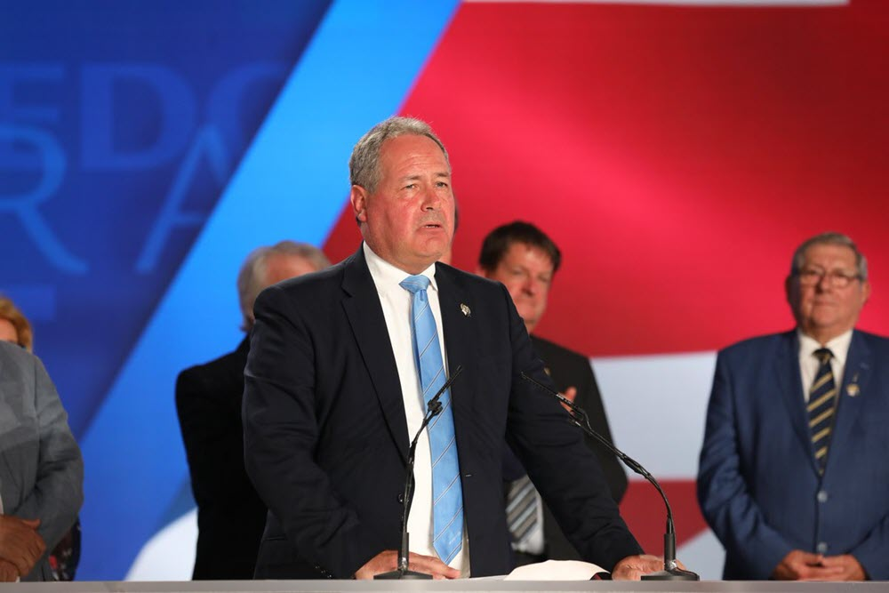 Mek's Free Iran Rally in London Points the Way to a Better Iran Policy - Bob Blackman MP