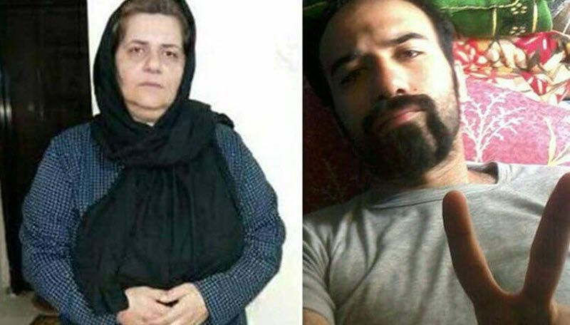 Mother of Iranian Political Prisoner Arrested and Taken to Unknown Location