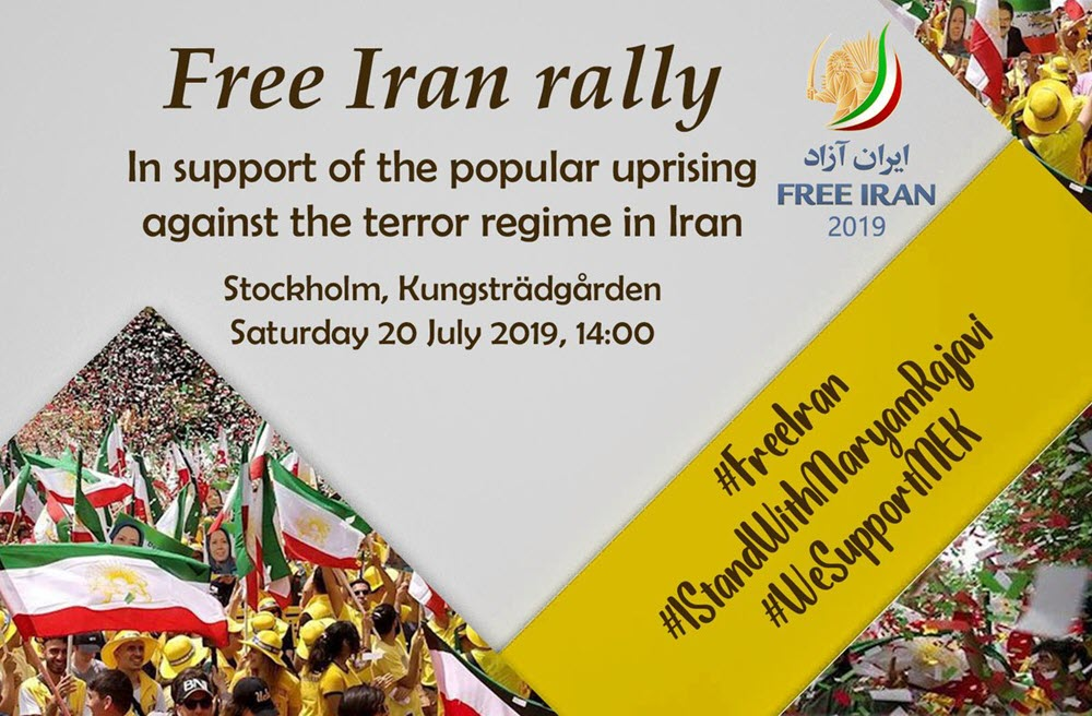 Mujahedin-E Khalq MEK Supporters to Hold Free Iran Rally in Stockholm Saturday