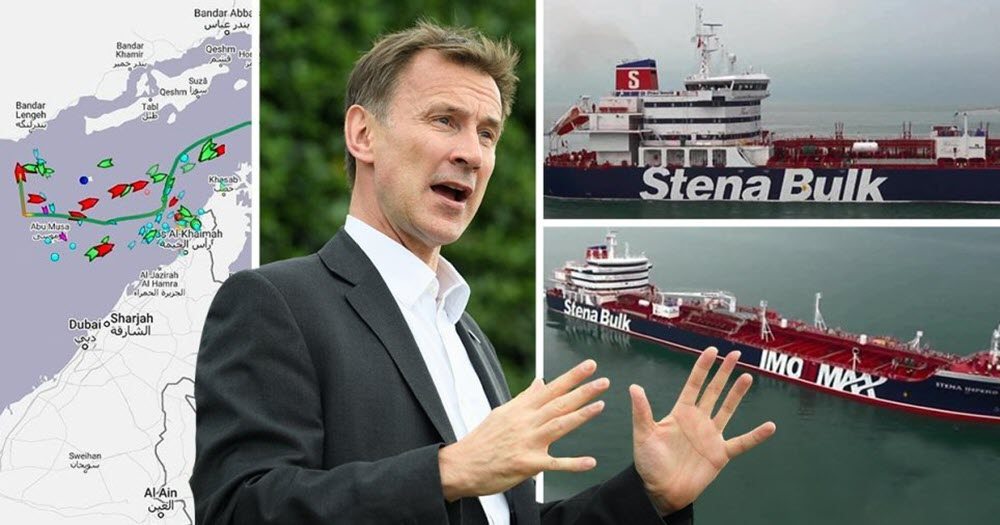 UK Calls Iran Regime's Seizure of Tanker 'Act of State Piracy'