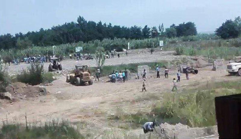 Ali Khamenei's Military Forces Killed Protesting People in Mahmoudabad-Mazandarun Province