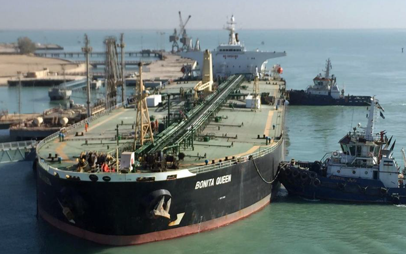 The Bonita Queen a new tanker filled with Iranian oil is on its way to Syria in a violation of current U.S. sanctions.