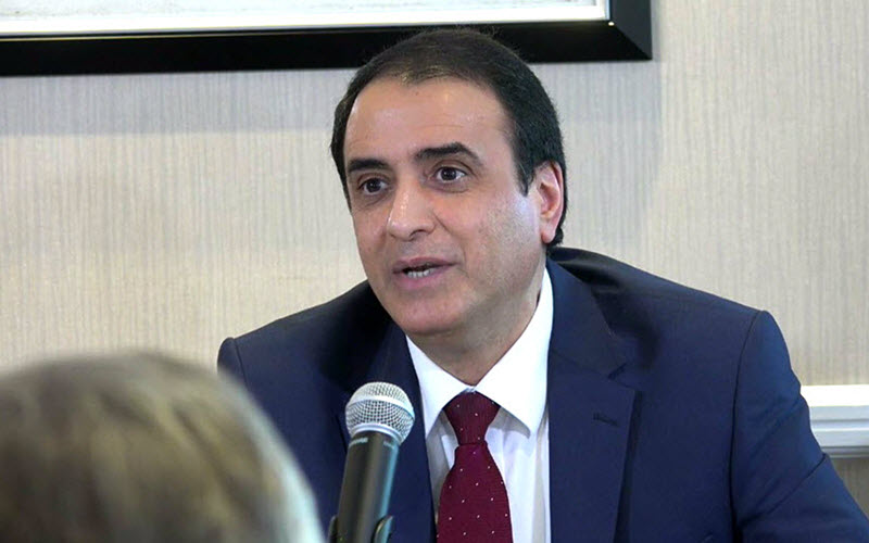 Hossein Abedini, of the Foreign Affairs Committee of the National Council of Resistance of Iran