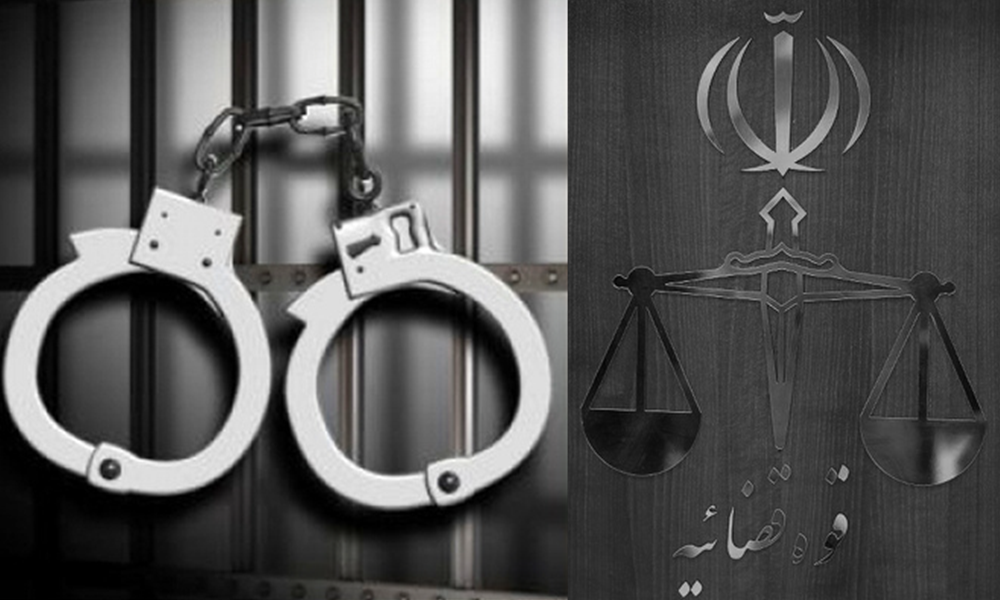 Fearing the spread of popular protests and outbreak of a nationwide uprising, the religious dictatorship ruling Iran continues resorting to widespread and arbitrary arrests, holding medieval trials, and issuing lengthy prison sentences for political prisoners.