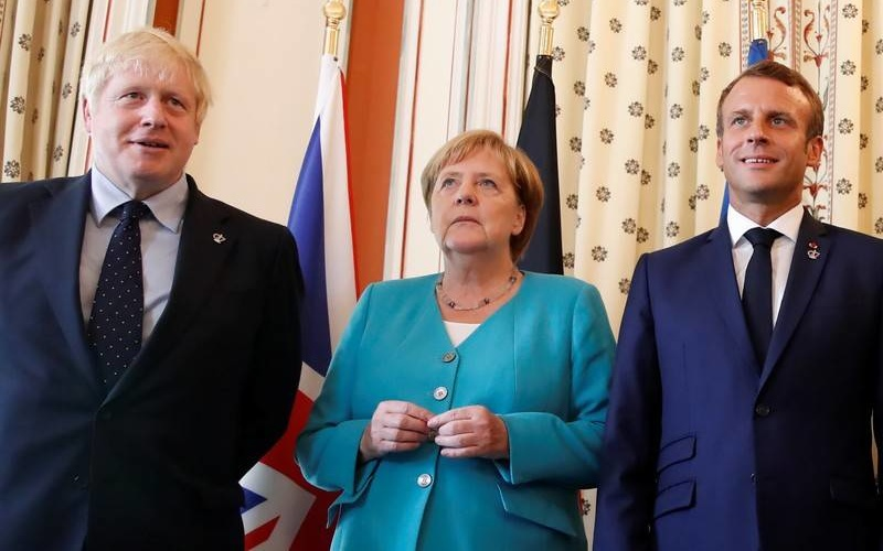 The leaders of the United Kingdom, France and Germany