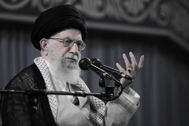 Iranian regime Supreme Leader Ali Khamenei, speaking to a few hundred mullahs - September 2019