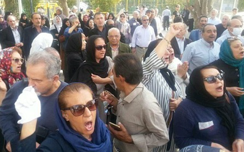 Protests in Iran are continuing with great intensity despite the massive crackdown on the people by the Iranian regime.