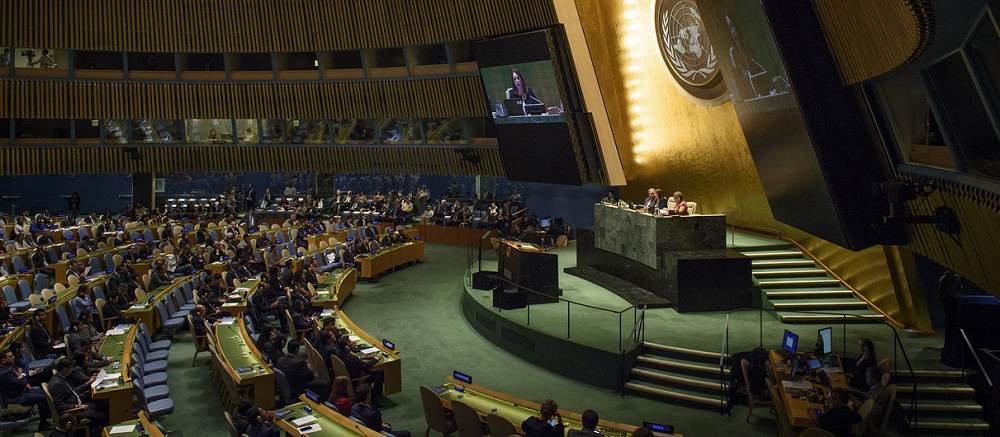 The UN General Assembly's annual session has been made into a mockery by the likes of Iranian dictators