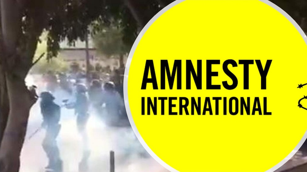 In a report on its website on November 19, Amnesty International has condemned the indiscriminate killing of anti-government protesters by Iran's regime