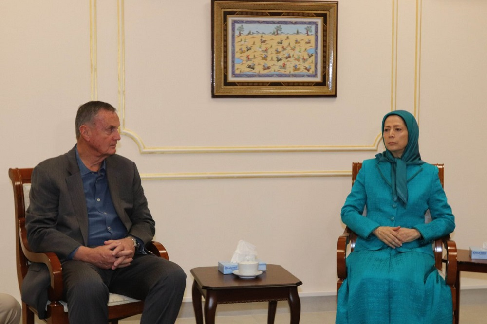 General James Jones Meets President-elect Maryam Rajavi, Visits Ashraf 3