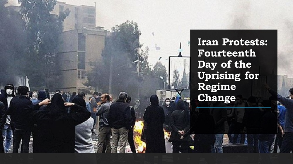 Iran Protests: Fourteenth Day of the Uprising for Regime Change
