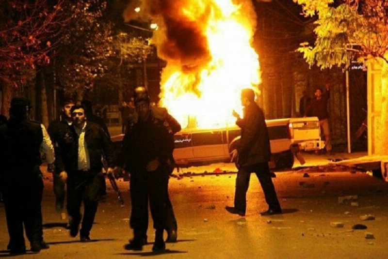 Demonstrations and Clashes Continue on 9th Day of Nationwide Uprising Despite Deadly Suppression