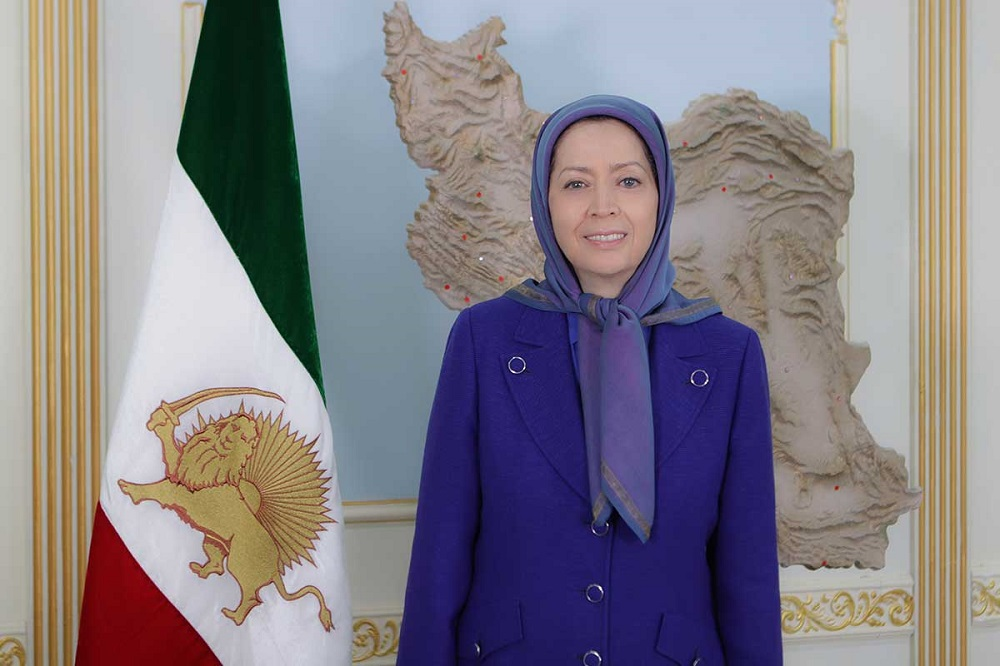 Maryam Rajavi Urges Iranian Nation to Rise in Revolt for Freedom