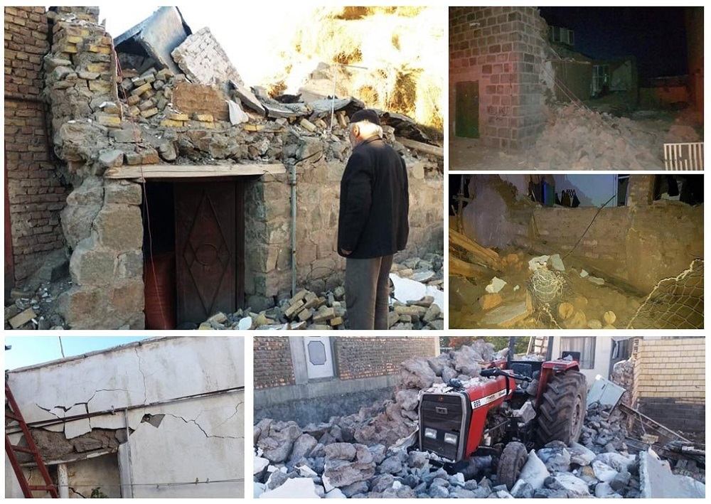 Iranian opposition leader Maryam Rajavi on Friday expressed her condolences to the people of Iran over the deadly quake