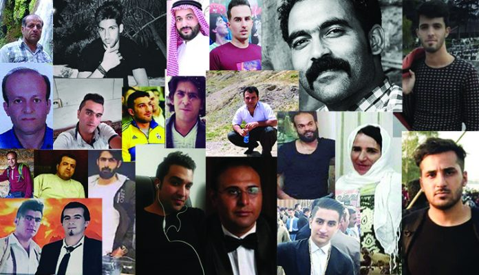 Pictures of some of the martyrs of the November Iran Protests-2019