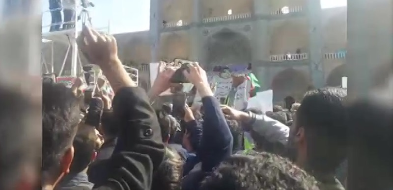 Angry Over Inflation, High Prices, People Protest Against Rouhani in Yazd, Infighting Within the Ruling Clique Escalates