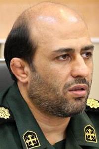 Colonel Alireza Heydarnia Deputy Commander of Seyyed Alshohada Corp