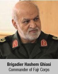 Brigadier Hashem Ghiasi Commander of Fajr Corps