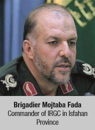 Brigadier Mojtaba Fada Commander of IRGC in Isfahan Province