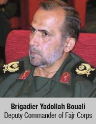 Brigadier Yadollah Bouali Deputy Commander of Fajr Corps