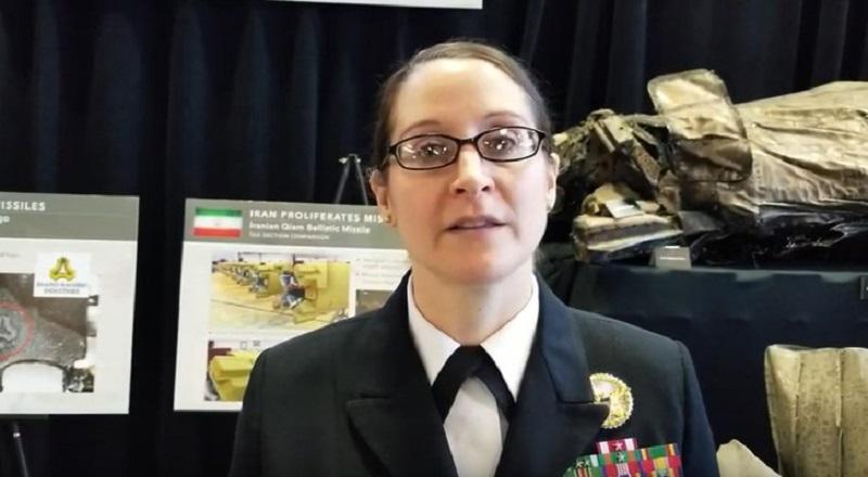 Cmdr. Rebecca Rebarich, a Pentagon spokeswoman