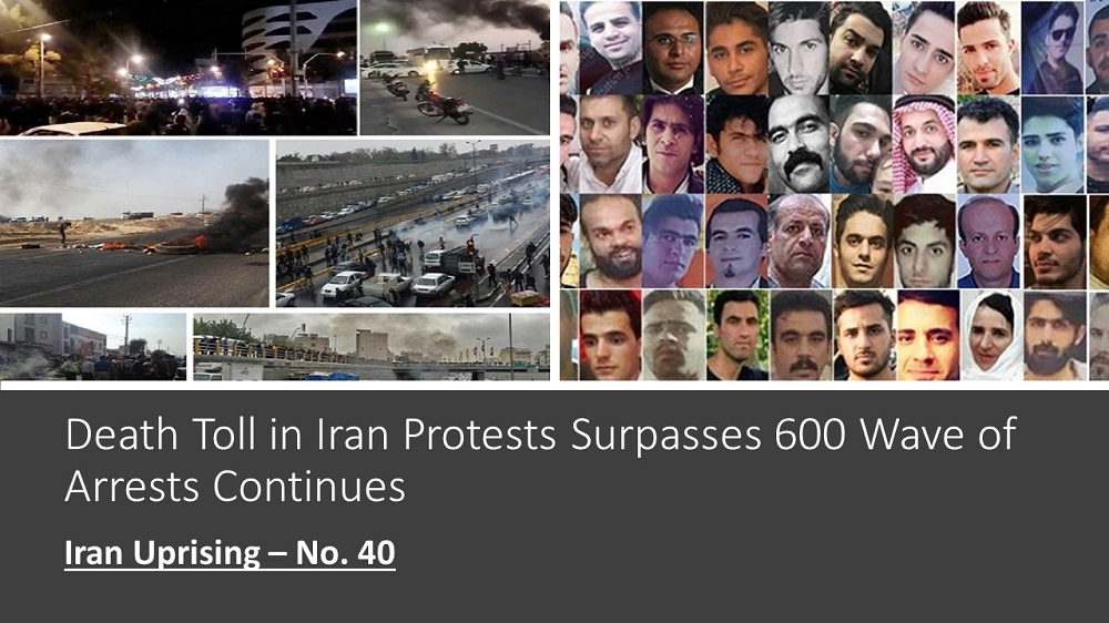 Death Toll in Iran Protests Surpasses 600 Wave of Arrests Continues