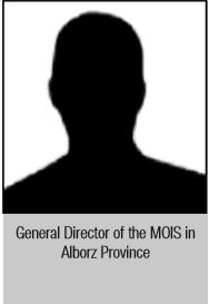 General Director of the MOIS in Alborz Province