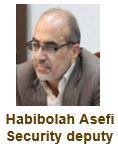 Habibolah Asefi Security deputy
