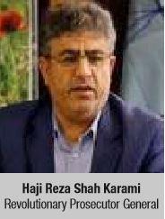 Haji Reza Shah Karami Revolutionary Prosecutor General