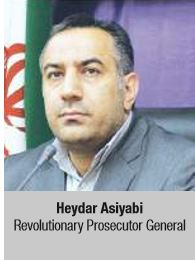 Heydar Asiyabi Revolutionary Prosecutor General