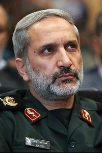 Mohammad-Reza Yazdi Commander of Mohammad Rasoulollah Corp of Greater Tehran