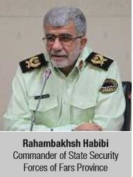 Rahambakhsh Habibi Commander of State Security Forces of Fars Province