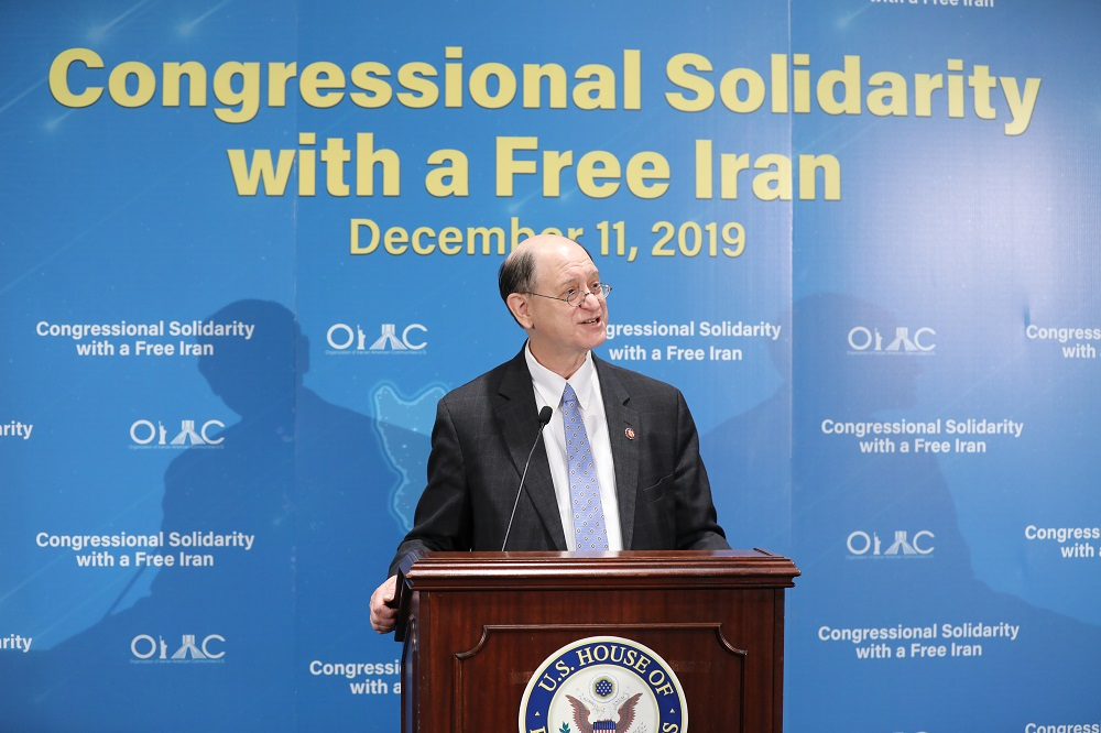 Rep. Brad Sherman: I also want to commend Madame Rajavi for her advocacy for democracy and her advocacy for women's rights and human rights