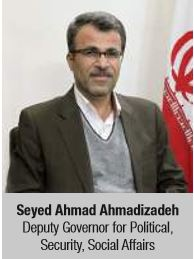 Seyed Ahmad Ahmadizadeh Deputy Governor for Political, Security, Social Affairs
