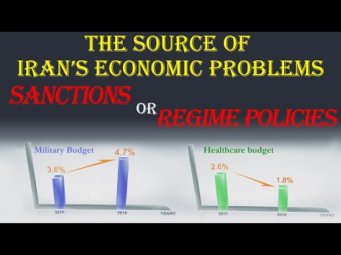 Sanctions or Government Corruption - What is the source of Iran's economic problems