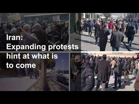 Iran Expanding protests hint at what is to come