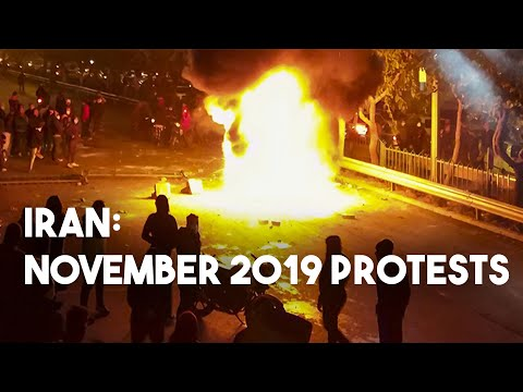 Recalling Iran's nationwide November 2019 protests after gas price hike